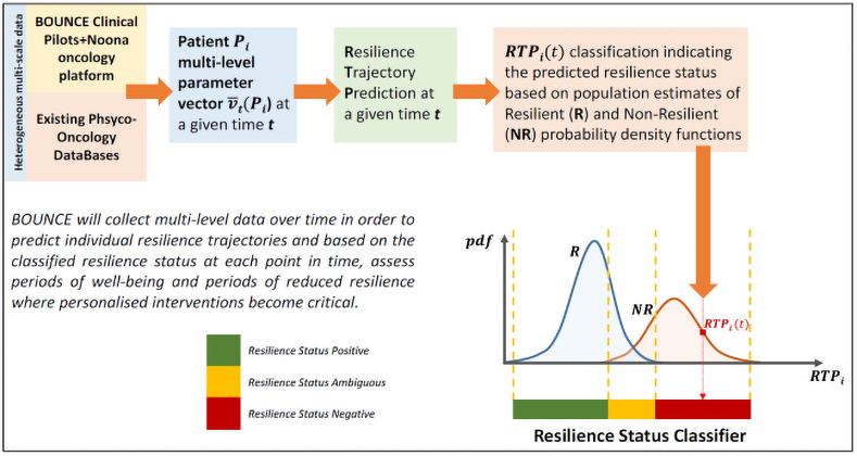 BOUNCE cross-sectional predictive modelling framework for resilience status.