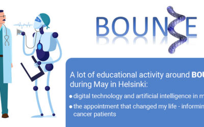 A lot of educational activity around BOUNCE during May in Helsinki