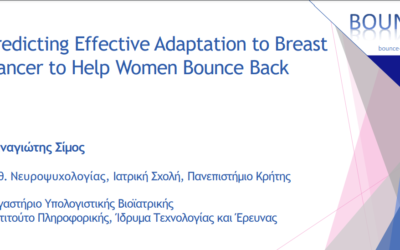 Predicting Effective Adaptation to Breast Cancer to Help Women to BOUNCE Back